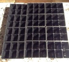 72 Deep Cells Pots Seed Starting Trays Greenhouse Supplies Planting Gardening cm