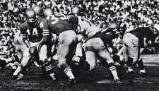 1950's NFL FOOTBALL San Francisco Y.A. TITTLE & HUGH McELHENNY Photo Art 11x14