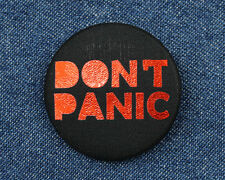 Hitchhiker's Guide to the Galaxy Button - Don't Panic Button - Don't Panic Pin