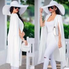 Fashion Women Loose Long Cloak Blazer Coat Cape Cardigan Jacket Trench Outwear G