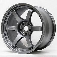 "18"" 18x9.5 ET+38 Rays Gram Lights 57DR Gray Wheels 5x4.5 Subaru WRX STI (4) Set"