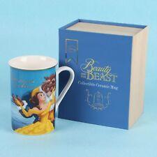 NEW Gift Boxed Disney Beauty And The The Beast Balcony Coffee Mug Belle Beast