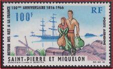 SAINT PIERRE ET MIQUELON  PA N°36** TB,1966 SPM MNH