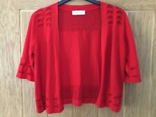 Marks and spencer ladies red per una cardigan size 10