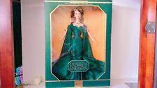The Empress of Emerald Barbie . The jewelry collection Barbie. NRFB.