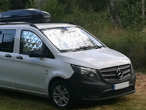 Mercedes Vito Front Cab Thermal Blind Set -  3 piece internal screens Campervan