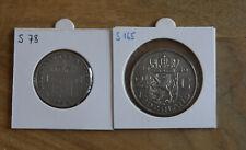 SILBER Silver Ag * 2 Münzen Niederlande 1959 und NL Antillen 1963