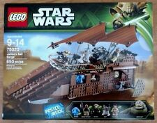 LEGO~STAR WARS~JABBA'S SAIL BARGE~#75020~850 PIECES~RETIRED~SOLD OUT~NEW~SEALED
