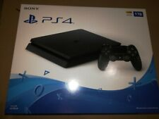 New Sony PlayStation 4 Slim 1TB PS4 Jet Black Gaming Console CUH-2215B
