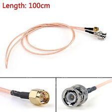 100cm Kabel BNC Male Stecker To SMA Male Gerades Crimp RG316 3ft Jumper Pigtail