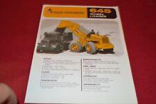 Allis Chalmers 645 Tractor Loader Dealer's Brochure YABE14 ver25
