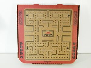 Pizza Hut Pac Man Box Augmented Reality Arcade Contest Promo Advertising Package