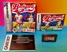 Backyard Sports Football 2007  Nintendo Game Boy Advance Complete Box Tested GBA