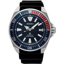 NEW SEIKO PROSPEX AUTOMATIC DIVERS SAMURAI EDITION BLUE RED BEZEL SRPB53