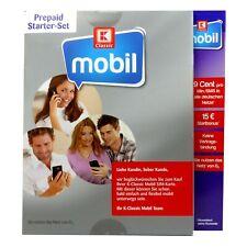K-Classic Mobil Prepaid Karte mit 15? Startguthaben (NEU) Kombi-Sim alle Formate