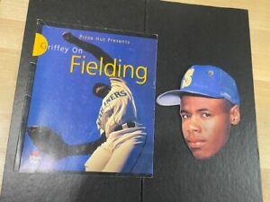 1997 Pizza Hut Presents Fielding Book & 1990 Topps Heads Up Ken Griffey Jr. lot