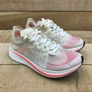Nike Womens Zoom Fly SP Breaking 2 Running Shoes White AJ8229-106 Low Top 8 M