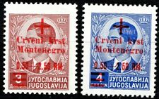 GERMANY - 1944 OCC. OF MONTENEGRO ISSUES - MINT L HINGED