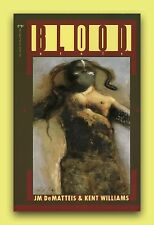BLOOD *1988 NEW 1ST EDITION 1ST PRINTING SOFTCOVER GRAPHIC NOVEL