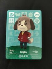 Animal Crossing Official Amiibo Card - Series 1 Special Card - #009 - Digby