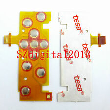 NEW Keyboard Plate Button Flex Cable for Nikon Coolpix S5200 Digital Camera