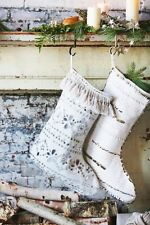 Free People FP One Tassel Mirror Christmas Stocking $128 Sold Out