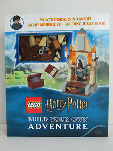 New Lego Harry Potter Build Your Own Adventure Minifigure & Book Wizarding World