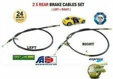 FOR MAZDA RX8 1.3 2.6 ROTARY 2003-2008 NEW 2X REAR LEFT + RIGHT HAND BRAKE CABLE