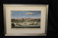 "Early 19th Century Bowles & Carver ""Royal Hospital at Chelsea"" Hand Colored"