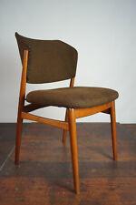 60er Retro Esszimmer Stuhl Designer Sessel Vintage Danish Mid-Century Holz