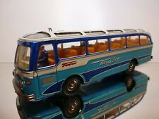 TIPPCO GERMANY TIN TOY BUS COACH TOURIST - L34.0cm VERY RARE - GOOD