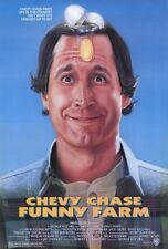 """FUNNY FARM Movie Poster [Licensed-NEW-USA] 27x40"""" Theater Size Chevy Chase"""