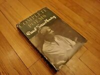 Complete Poems by Carl Sandburg 1950 First Edition Stated Hardcover Dust Jacket