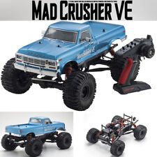 Kyosho 34253 1/8 Mad Crusher VE EP Brushless Monster Truck 4WD RTR Blue w/ Radio