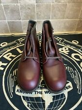 """RED WING 9062 BECKMAN """"FLAT BOX"""" BLACK CHERRYFeatherstone Leather MEN BOOTS 9D"""