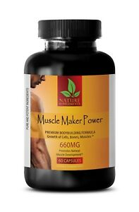 Fast Gain Weight - MUSCLE MAKER POWER - Vitamin B-6 - Bodybuilding Supplements