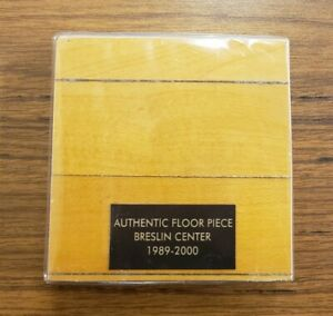 Breslin Center Basketball Court Wood Floor Piece Game-Used MSU Spartans ~ w/COA