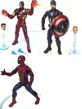 "Marvel Legends Captain America Civil War 6"" Figure GIFT SET~ IRON MAN SPIDER-MAN"