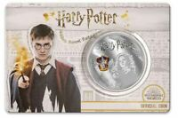 2020 HARRY POTTER Hermione Granger Half Dollar Silver Plated Coin on Card