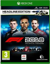 Xbox One Racing Game - F1 2018 Formula 1 One - THE OFFICIAL VIDEOGAME