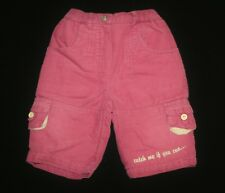 """Pantalon velours thermique Babyhose Lettrage """"Catch Me If You Can..."""" taille 62"""