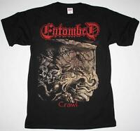ENTOMBED CRAWL EP 1991 NIHILIST DISMEMBER GRAVE DEATH METAL NEW BLACK T-SHIRT