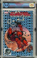 Deadpool #45 Phantom Variant Rare! HTF! Egs 9.6 Not Cgc. Marvel Comic Hot