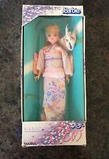 Vintage Takara Japanese Traditional Style Barbie Doll Kimono NRFB / box has wear