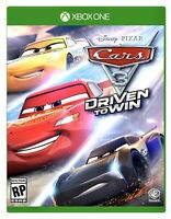 NEW! Cars 3: Driven to Win (Xbox One XB1) Disney Pixar Sealed Racing Family Game