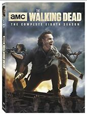 The Walking Dead  Season 8 Brand New DVD 5 Disc Set New &  Sealed
