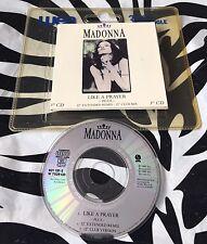 "Madonna - Like A Prayer Rare 1989 3"" CD Single In WEA Plastic Wallet"