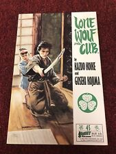 LONE WOLF AND CUB #45 (First Comics 1991) LAST ISSUE (FN/VF) LOW PRINT RUN
