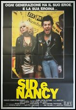"""1986 Music Biography Movie Sid and Nancy Poster 18x12 36x24 40x27/"""""""