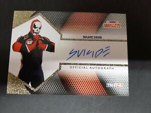 """SUICIDE """"CHRISTOPHER DANIELS"""" 2009 TRISTAR TNA IMPACT AUTOGRAPH CARD - 06/60"""
